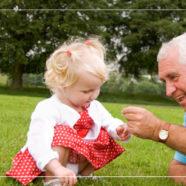 Grandpa and Girl